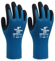 Wholesale Garden Safety Gloves Nylon With Nitrile Sandy Coated Work Gloves