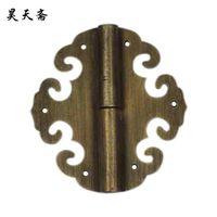 antique copper hinges - Haotian fast detachable antique copper hinge hinge wardrobe bookcase detachable hinge hinge HTF