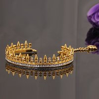 batch shop - US big gilded crown jewelry bracelets Qingdao Commodity shopping with money a generation of fat mixed batch