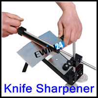 Wholesale Professional Kitchen Knife Sharpener Tools System Fix angle Sharpening Cutlery Kitchen Storage New Arrival Simple reassembling needed sets