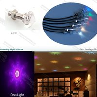 Wholesale ZZ led sauna fiber optic starry sky ceiling decorative crystal light fittings