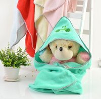 Wholesale 2014 New Rushed Baby Blankets Newborn Blanket Twist Embroidered Serging Towelling Coverlet Infant Children Were Held By Quilt