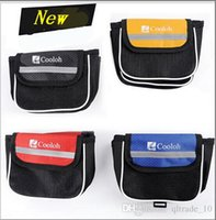 Wholesale AAA New Bike Bicycle Frame Pannier bike Front Tube Bag New Sports Cycling Bicycle Bike Front Frame Tube Bags bike phone bag LJJD2597