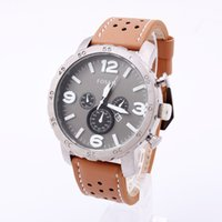 Wholesale New Wristwatch Quartz Watch Date fossiler DZ Men Leather Casual Fashion Army table Stainless Masculino Relogio Reloj
