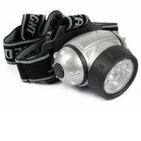 Wholesale LED Bright Headlight Torch Headlamp Head Lamp Light With Adjustable Strap Flashlight led head light