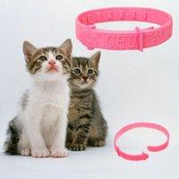 Wholesale Adjustable Pet Collar Cat Protection cat collar Neck Ring Flea Tick Mite Louse Remedy HOT Collar