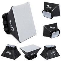 Wholesale Brand New Soft Box Flash Diffuser White Bounce Diffuser Cover for SLR DSLR Flash