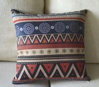 batik pillow covers - Elegant Batik Style Retro Aztec Tribe Retro pattern cushion cover pillow cases cm cm pc