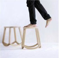 Wholesale Chinese style furniture simple modern solid wood stools tea table