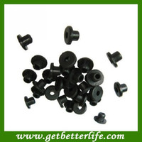 Wholesale pc Black Rubber Nipple Grommet Band for Tattoo Machine Gun Supply WS B21 tattoo accessories supplies
