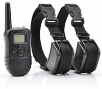 Wholesale Rechargeable M LCD Remote LV Shock Dog Training Collar Waterproof Training Collar for Puppy pet