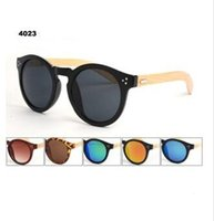 Acrylic no min order - 2015 min order piece high quality handmade natural wood sunglasses designer pure handmade bamboo wooden sunglasses wood bamboo leg for