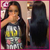 Cheap China manufacturer wholesale cheap 100% virgin brazilian human hair wig lace front wig tangle free for black women
