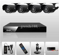 Wholesale CCTV DVR CH H Surveillance DVR Day Night Weatherproof Security Camera CCTV System