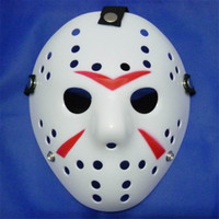 Wholesale Latest Jason Hockey Masks Plastic Material Full Face Masquerade Masks High Quality and Vintage Masquerade Masks New Arrival JHK002
