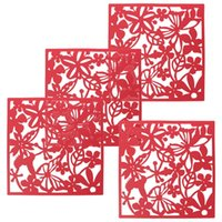 Wholesale Butterfly Flower Wall Sticker Hanging Screen Curtain Room Divider Partition New Home Decoration