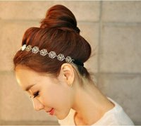 Wholesale 2015 Simple Fashion Women Headband Vintage Festival Wedding floral Garland Hear Band Headwear Hear accessories For Women Cheap