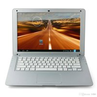 Wholesale 13 inch quot Air Laptop Android Notebook HD VIA8880 Dual Core GB GB Android Camera cheap DHL