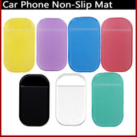 Wholesale Anti Slip Mat Non Slip Car Dashboard Sticky Pad Mat Powerful Silica Gel Magic Car Sticky Pad Without packing