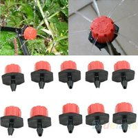 Wholesale 10pcs Garden Irrigation Misting Micro Flow Dripper Drip Head Hose S