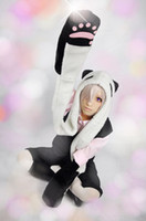 go go costume - cosplay Un go panda ears hat and tail cosplay Accessories