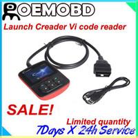 diagnostic code reader - Hot sales Original Launch Creader vi OBD2 Code reader creader auto diagnostic scanner