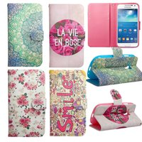 bag illustration - Illustration Fashion Sytle Leather Filp Phone bags For Samsung S3 mini i8190 Case Stand Holder Cover Cases With Card Slot