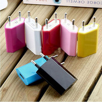 Cheap Cheap 5V 1000mah EU US Plug USB Wall Charger AC Power Adapter Home Charger for iphone 4 4S 5 5G 5S 5C Samsung Galaxy S3 S4 S5
