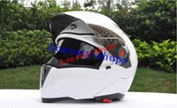 Wholesale Brand New Hot With Inner Sun Visor Flip Up Motorcycle Helmet capacete motorcycle double lens full face jiekai helmet