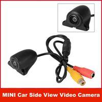 Wholesale MINI NTSC CMOS System Degree Wide Angle Car Side View Video Camera car ear view camera backup camera
