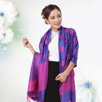 Wholesale Korea Gloves Style - Wholesale-2015 South Korea And Autumn Winter New Style Colorful Yunnan Woman Warm Long Scarf Shawl 9 Color
