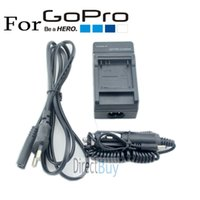 Wholesale Gopro Accessories Travel AC Wall Battery Charger EU Plug For GoPro HERO AHDBT AHDBT Car Charger Adapter