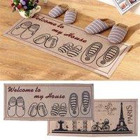Wholesale Stylish Anti Slip Floor Mat Door Mat Charpet Rug Kitchen Floor Mats Bedroom Floor Pad
