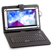 Wholesale IRULU Inch Octa Core Tablet PC ALLwinner A83T G G Android4 GHZ S IPS Points Touch Screen Bundle Keyboard Case
