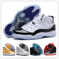 basketball - Nike dan Gamma Blue basketball shoes Jordan XI Athletic Shoes Retro BRED sports shoes jordan Sneakers factory store