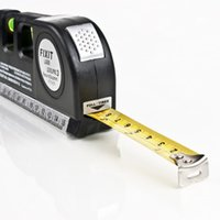 Wholesale Laser Horizontal Ruler Laser Level Meter Tape Measures Laser Straight