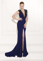 2014 Fall Navy Cocktail Dresses Cheap Spring Fall