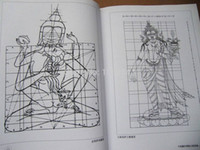 Wholesale TIBETAN BUDDHISM Buddha Chinese painting book Line Drawing Tattoo Reference