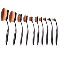 beauty gift boxes - Top Seller MultiPurpose Nylon Makeup Brush Gift Set Set Cosmetic Beauty Blusher Eyeshade Foundation Brushes Tools with box