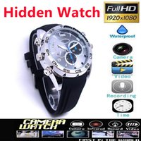 watch dvr recorder - Hot Sales HD P Waterproof SPY Watch Camera DVR with IR Night Vision GB GB Hidden Camcorder Recorder