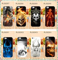 Wholesale Cheapest Iphone 5c Cases - Newest Cartoon Soft TPU Cases Painted Colorful Superman Series Skull Back Cover For Apple iPhone 4 4S 5 5S 5C 6 6S 6PLUS Cheap Phone Skin