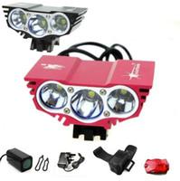 Wholesale SolarStorm X CREE U2 T6 LM LED Black Red Bike Bicycle Cycle Head Light Lamp