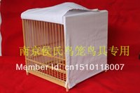 Wholesale for birds with white single tier cage clothing cage clothes