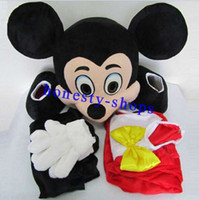 Wholesale Brand New Adult Size Mickey Mouse Mascot Costume Cartoon Character Costumes