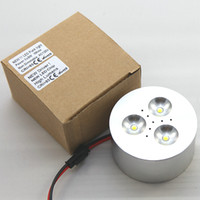 aluminum accents - 9W w LED Puck Light V V kitchen counter cabinets cupboard embeded or surface mounted accent lighting