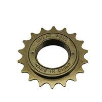 Cheap Bicycle parts bicycle freewheel Great Wall 18T freewheelBMX Bike Bicycle 18T Tooth Singlespeed Freewheel Sprocket Brown freewheel