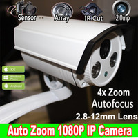 auto surveillance system - 1 P IP Camera Auto Zoom mm Varifocal Array Outdoor IR CUT Filter Night Vision Video Surveillance Camera System