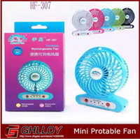Wholesale Portable Small Cooling Fans Adjustable Speed Mini USB Cooling Fan Rechargeable for Laptop Notebook Computer PC HF up