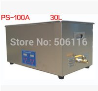 Wholesale Free ship Brand new L Stainless Digital Ultrasonic Cleaner machine
