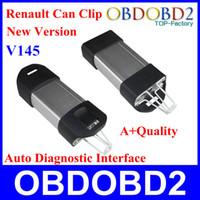 Super precio + un clip +++ calidad V145 Renault puede interfaz profesional de diagnóstico auto Renault puede acortar Multi-Idiomas